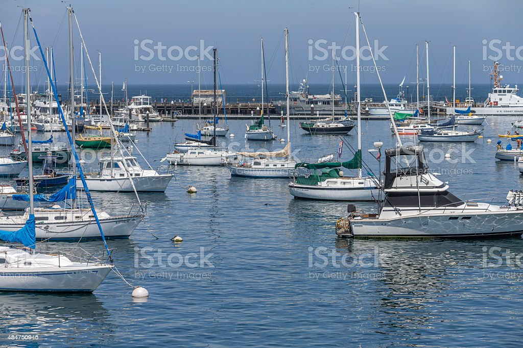 Fisherman's Wharf, Monterey of California stock photo
