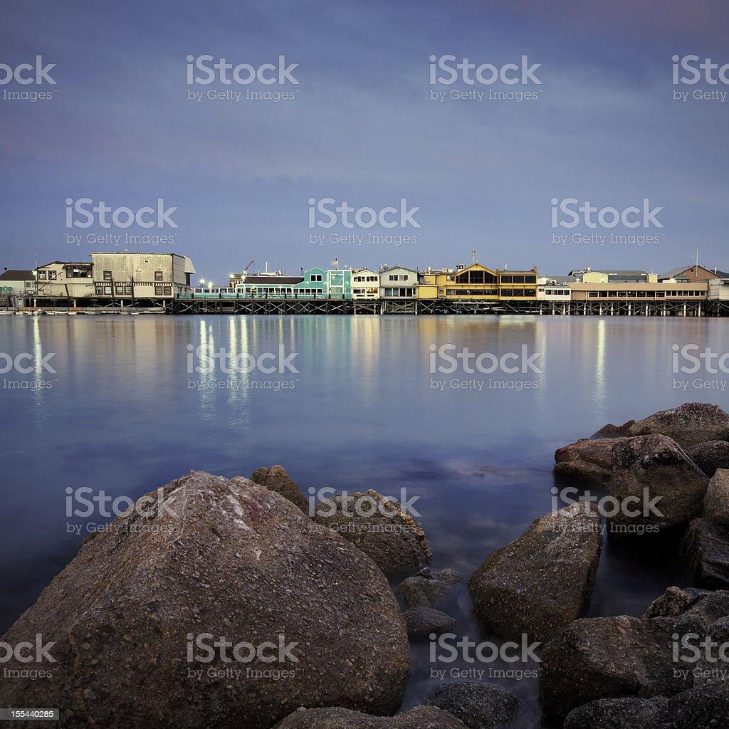 Fisherman's wharf, Monterey stock photo