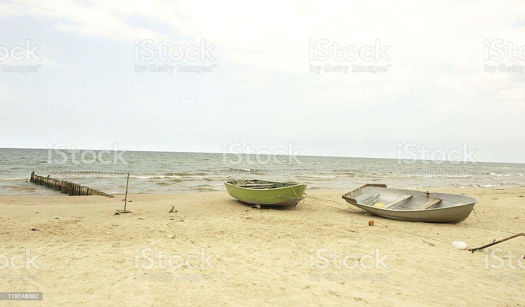 fishermen boats stock photo