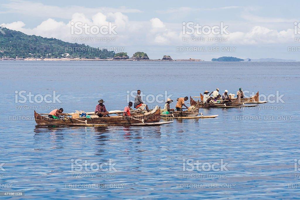 Fishermen royalty-free stock photo
