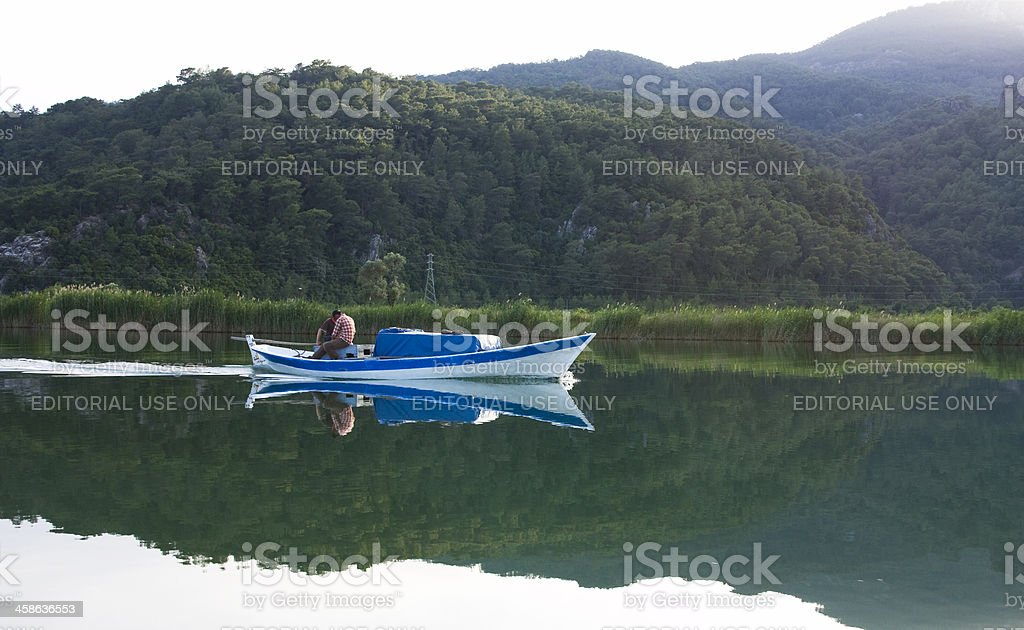 Fishermen, Turkey stock photo