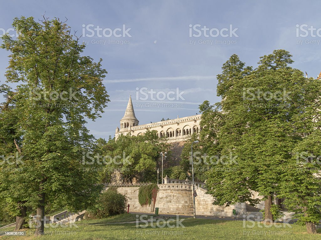 Fishermen's Bastion in Budapest stock photo