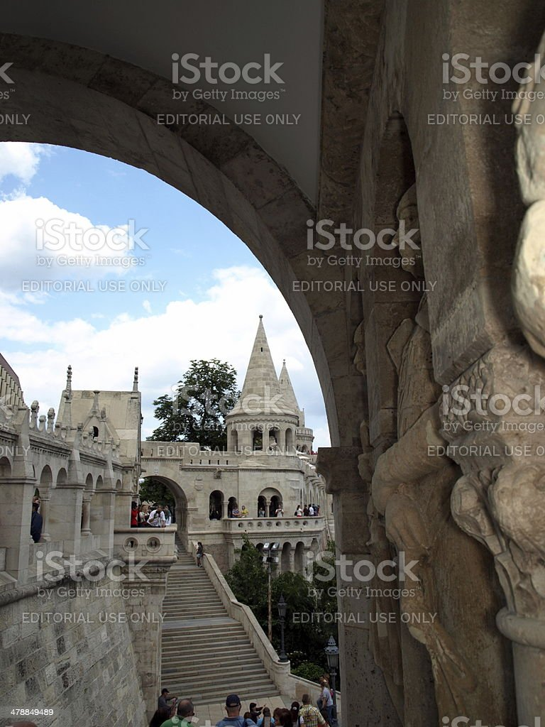 Fishermen's Bastion stock photo
