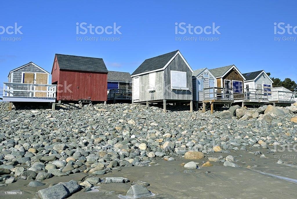 Fishermen's Houses stock photo