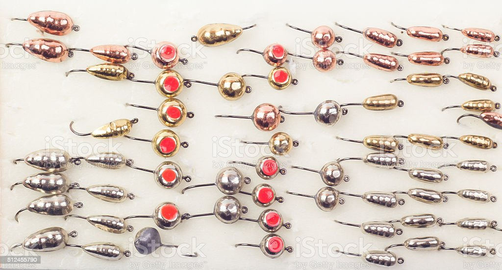 fishing baits on different color stock photo 512455790 | istock, Hard Baits