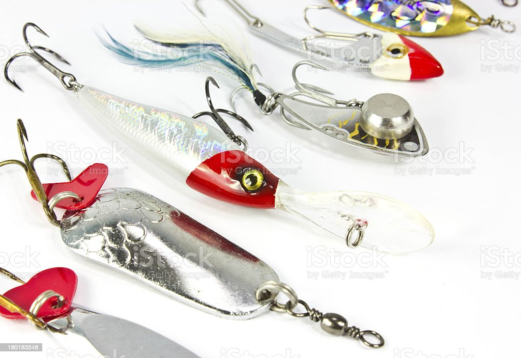 fishing baits royalty-free stock photo