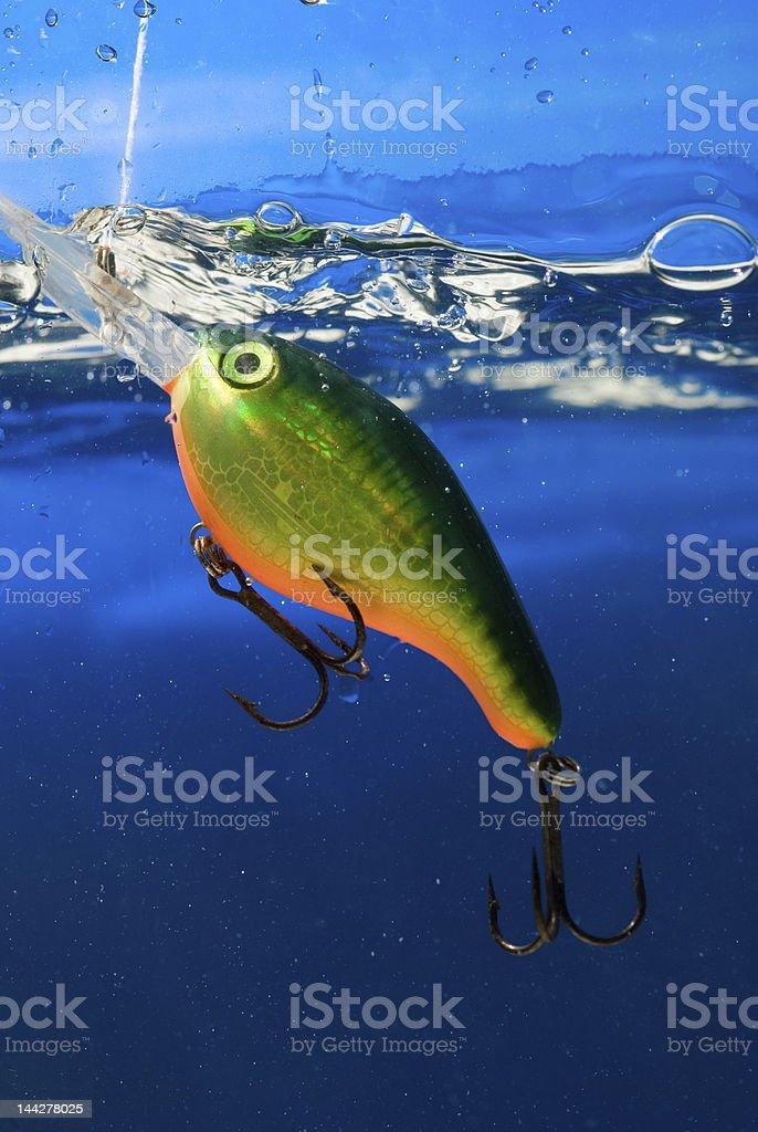fishing bait,wobbler stock photo