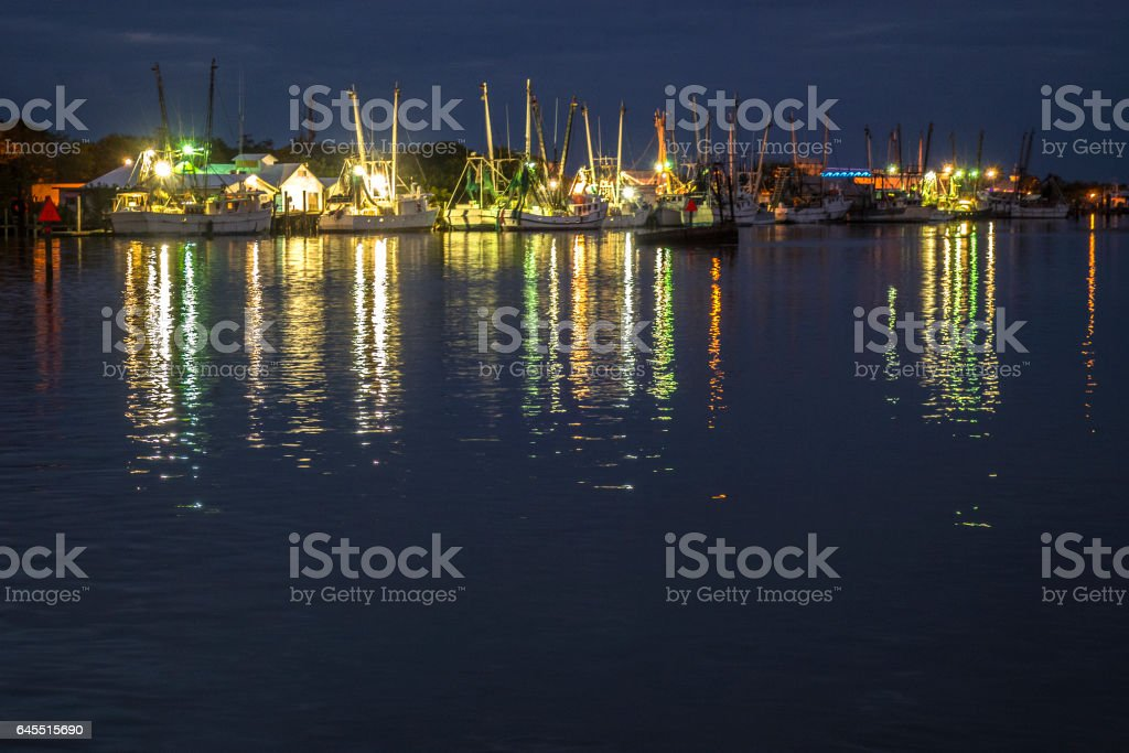 Fishing Boat Color stock photo
