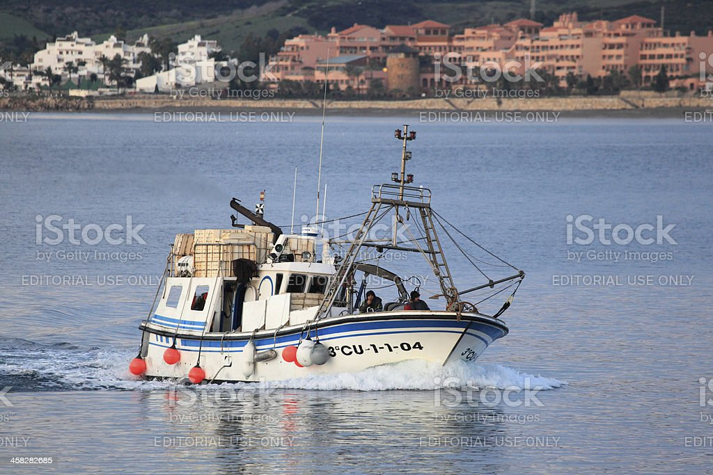 Fishing boat royalty-free stock photo