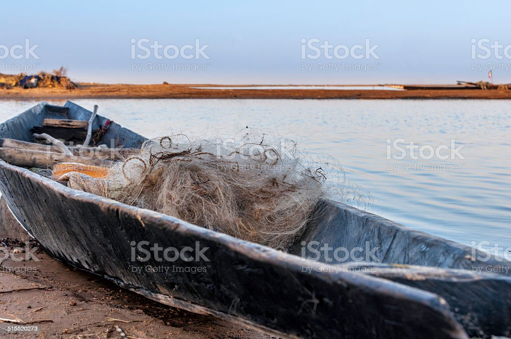 Fishing boat stock photo