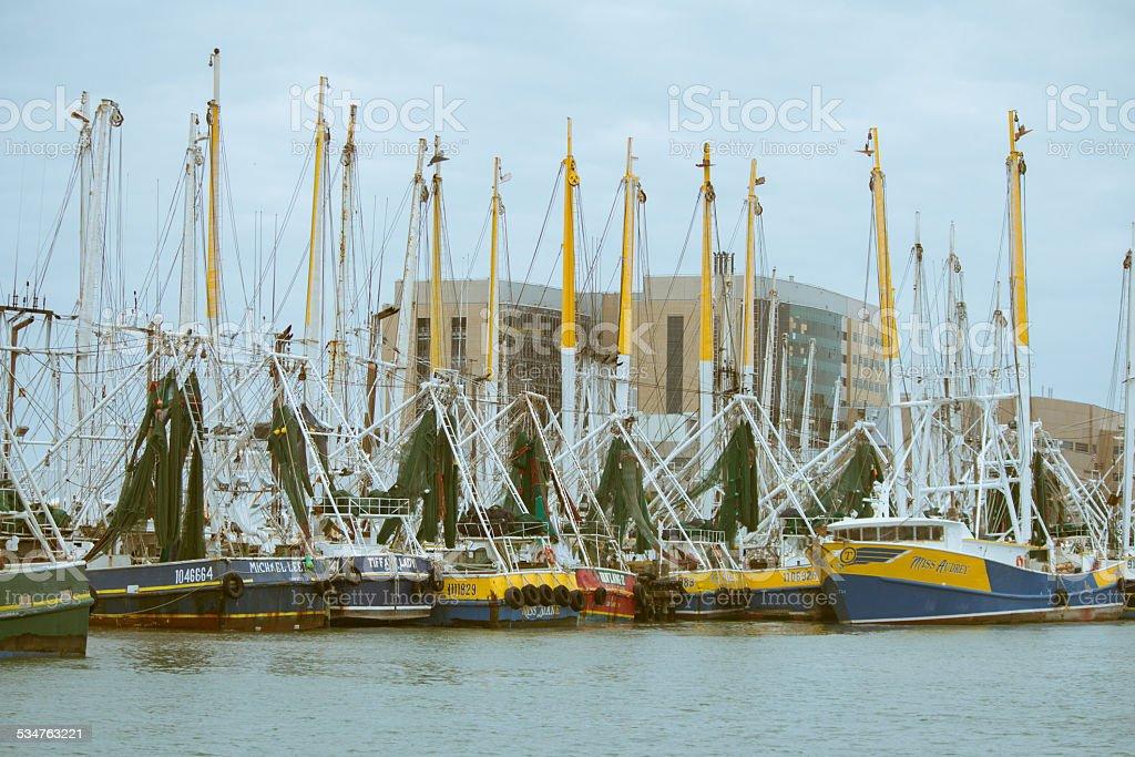 Fishing Boats at Port royalty-free stock photo