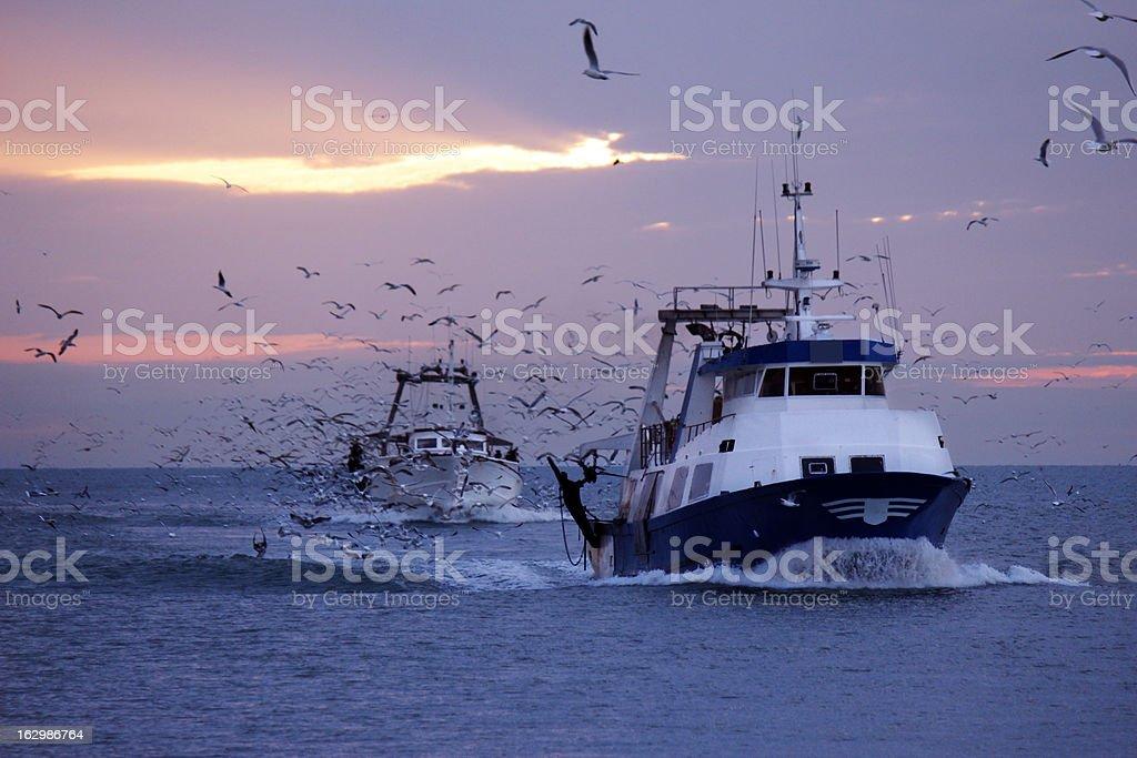 fishing Boats stock photo