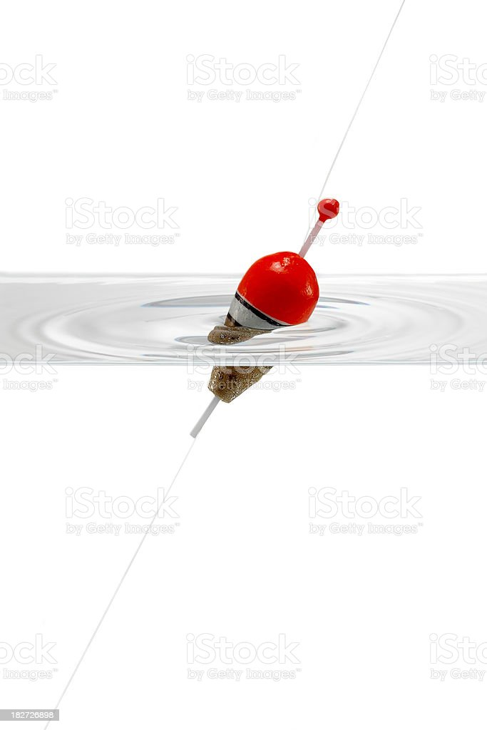 Fishing Bobber royalty-free stock photo
