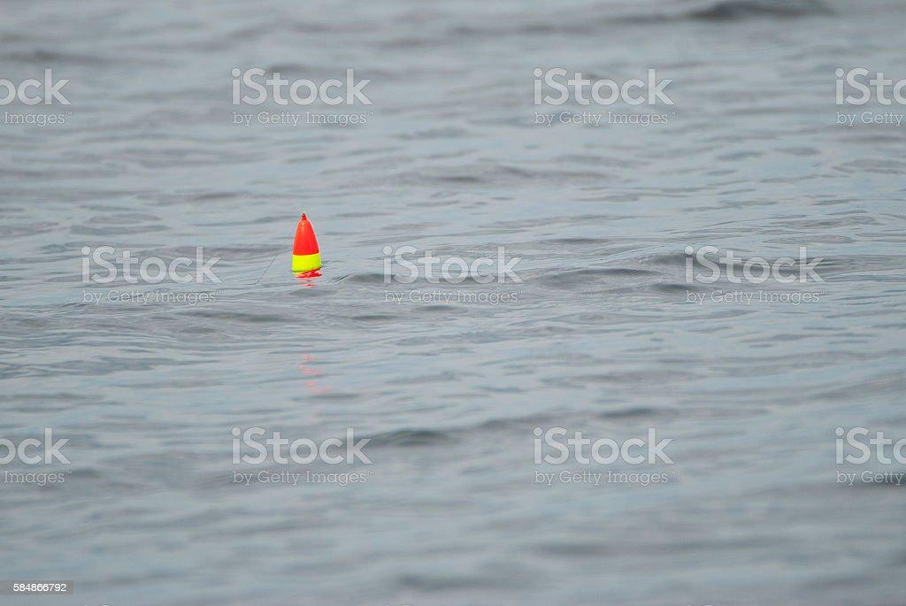 Fishing bobber stock photo