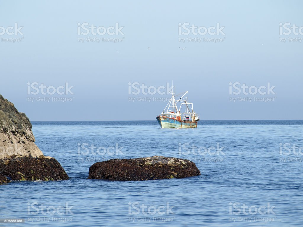 Fishing cutter royalty-free stock photo