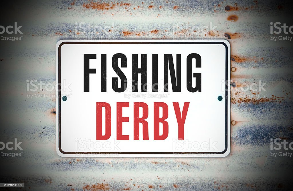 Fishing Derby stock photo