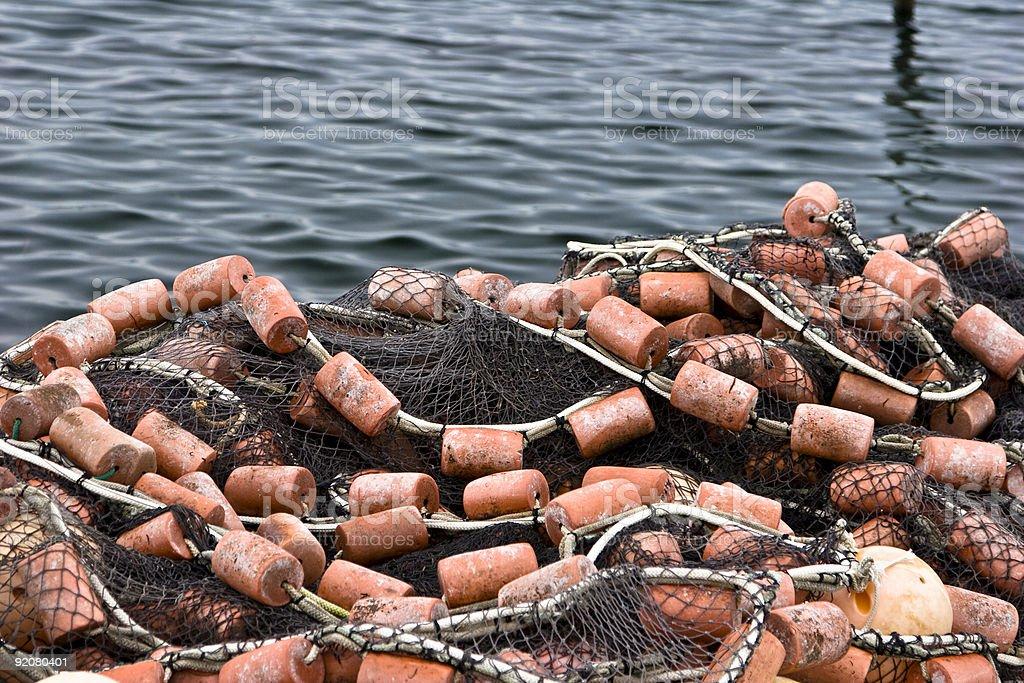 Fishing Equipment royalty-free stock photo