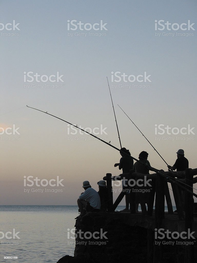 Fishing - Fisherman royalty-free stock photo