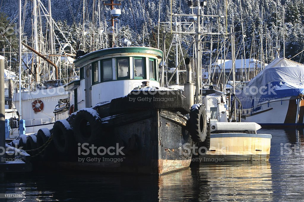 Fishing Fleet royalty-free stock photo