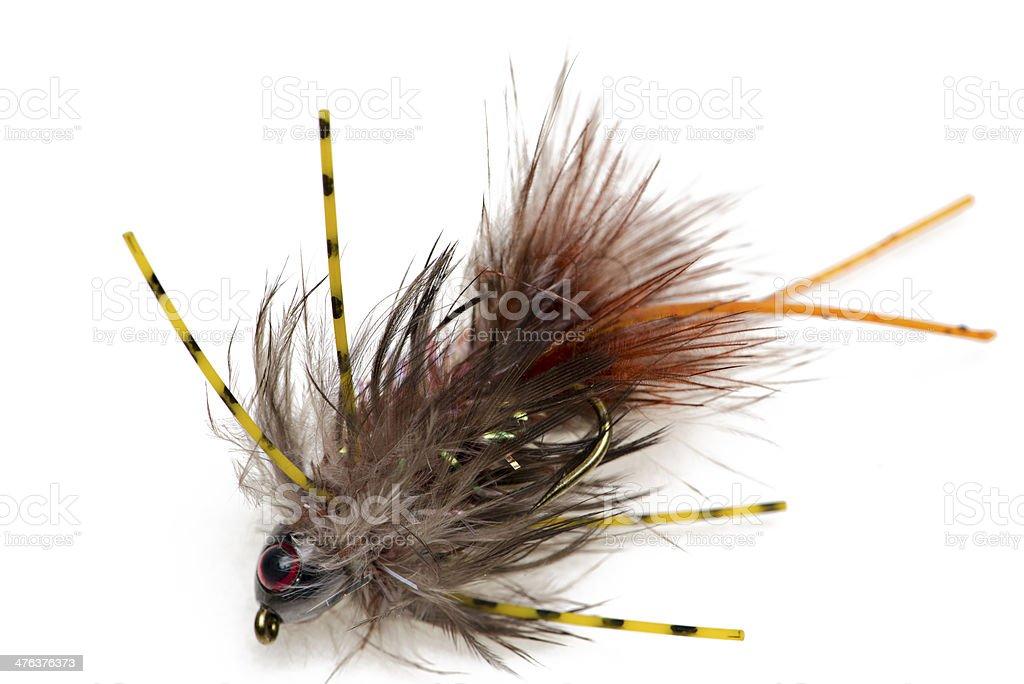 Fishing Flies royalty-free stock photo