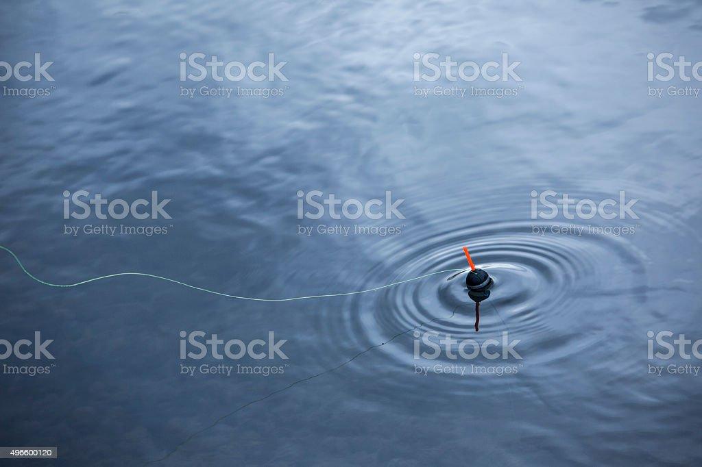 Fishing float stock photo