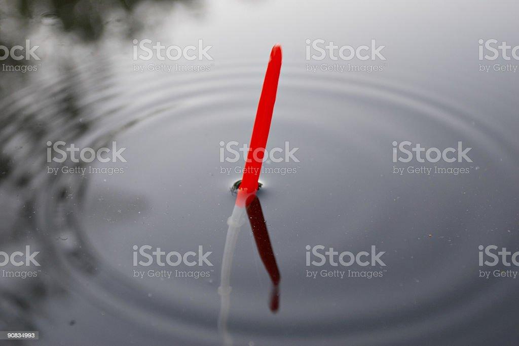 fishing float royalty-free stock photo