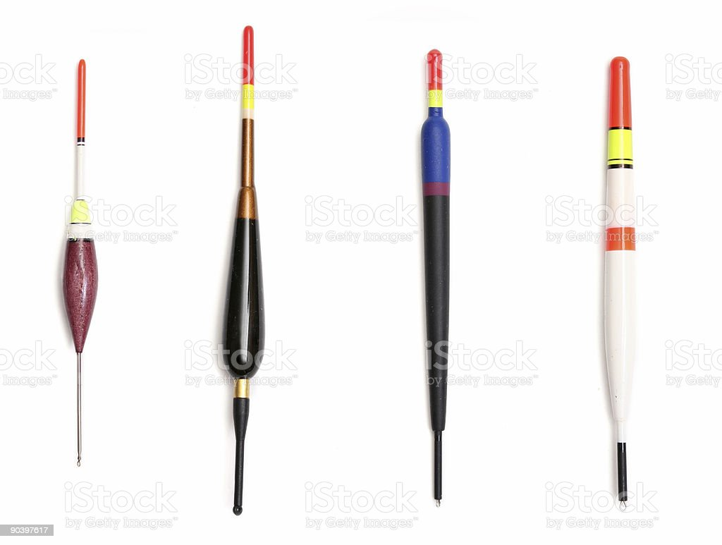 Fishing floats royalty-free stock photo