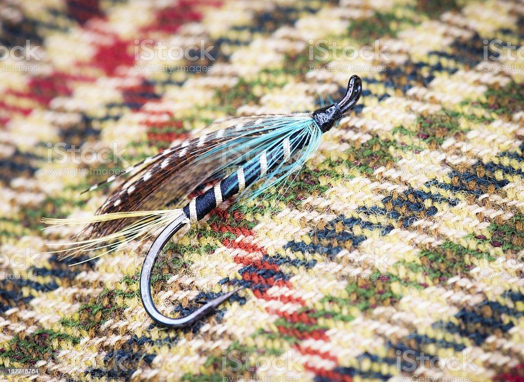 Fishing Fly Macro royalty-free stock photo