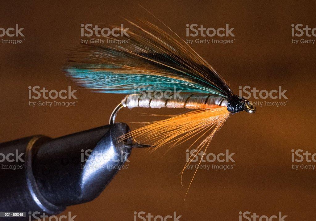 Fishing Fly stock photo