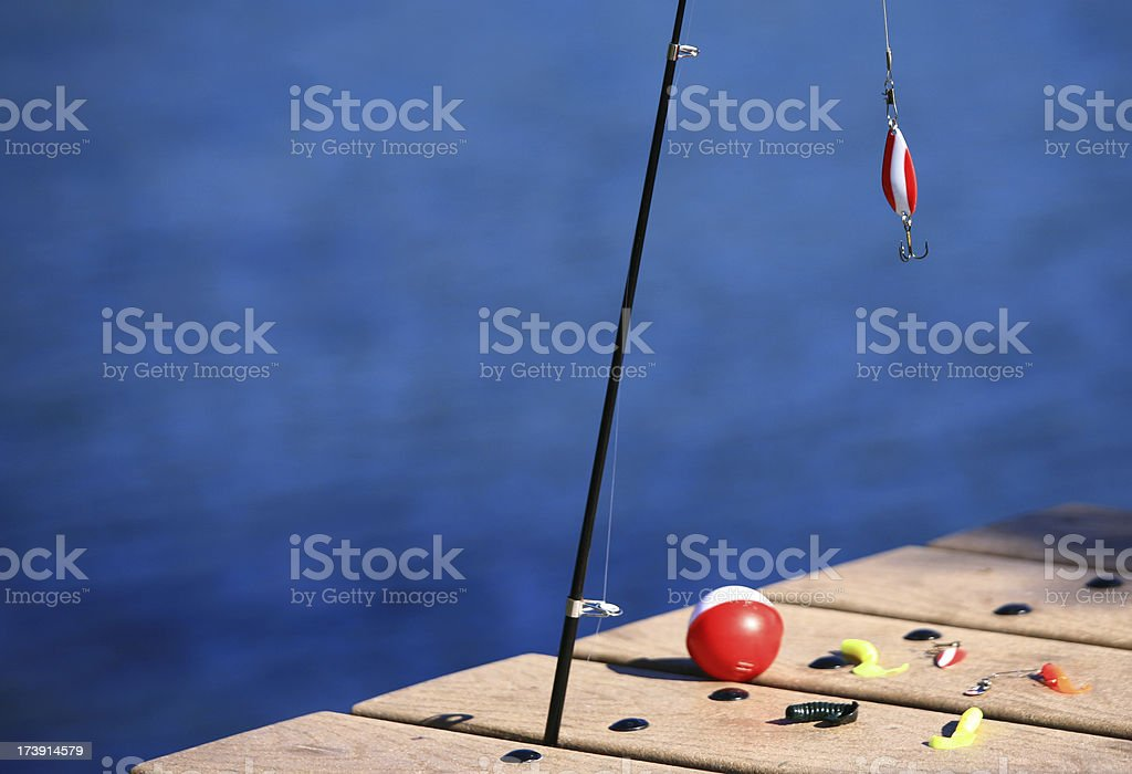 Fishing Gear royalty-free stock photo