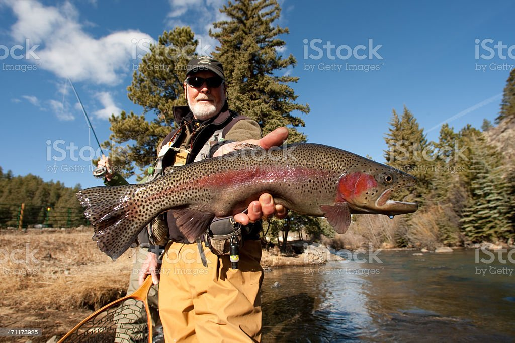 fishing guide royalty-free stock photo