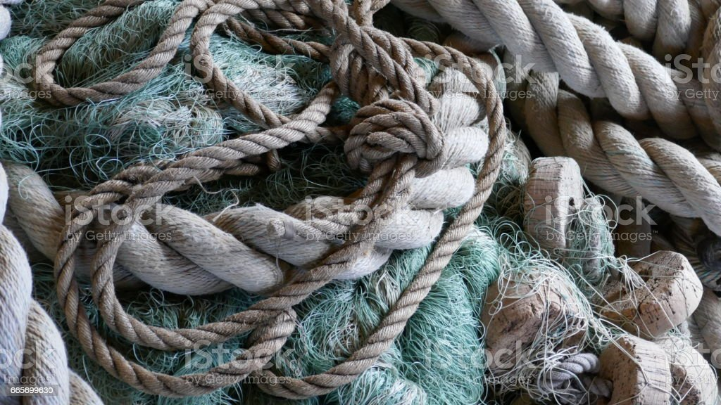 Fishing Industry Abstract stock photo