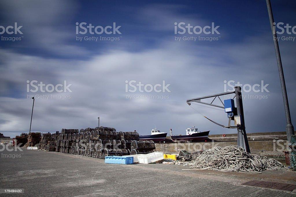 fishing industry England stock photo
