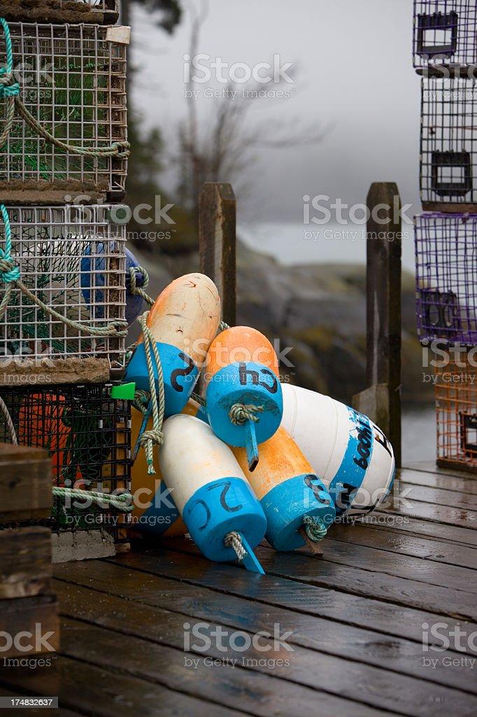 Fishing industry royalty-free stock photo