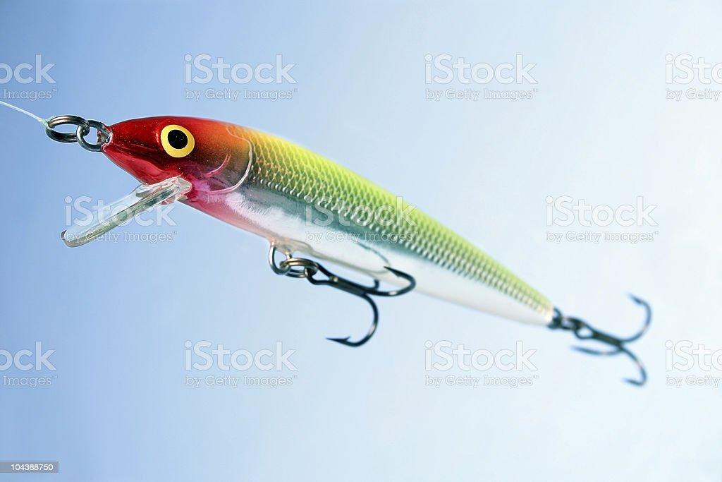 fishing lure 1 royalty-free stock photo
