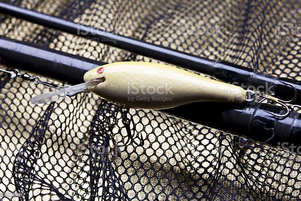 Fishing lure royalty-free stock photo