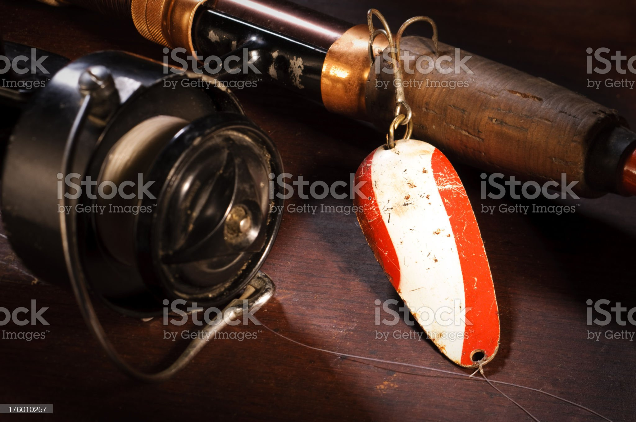 Fishing Lure royalty-free stock photo