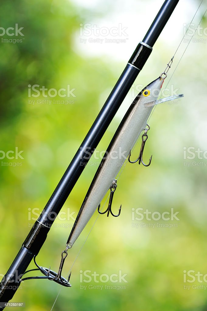 fishing lure stock photo
