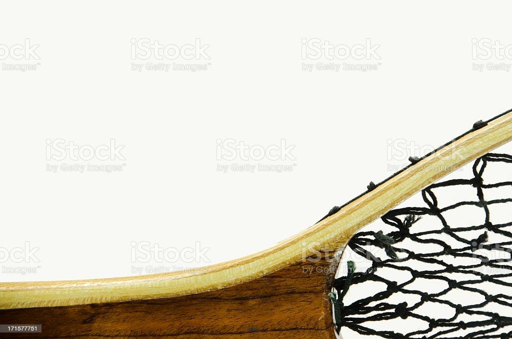 Fishing Net On White  . stock photo