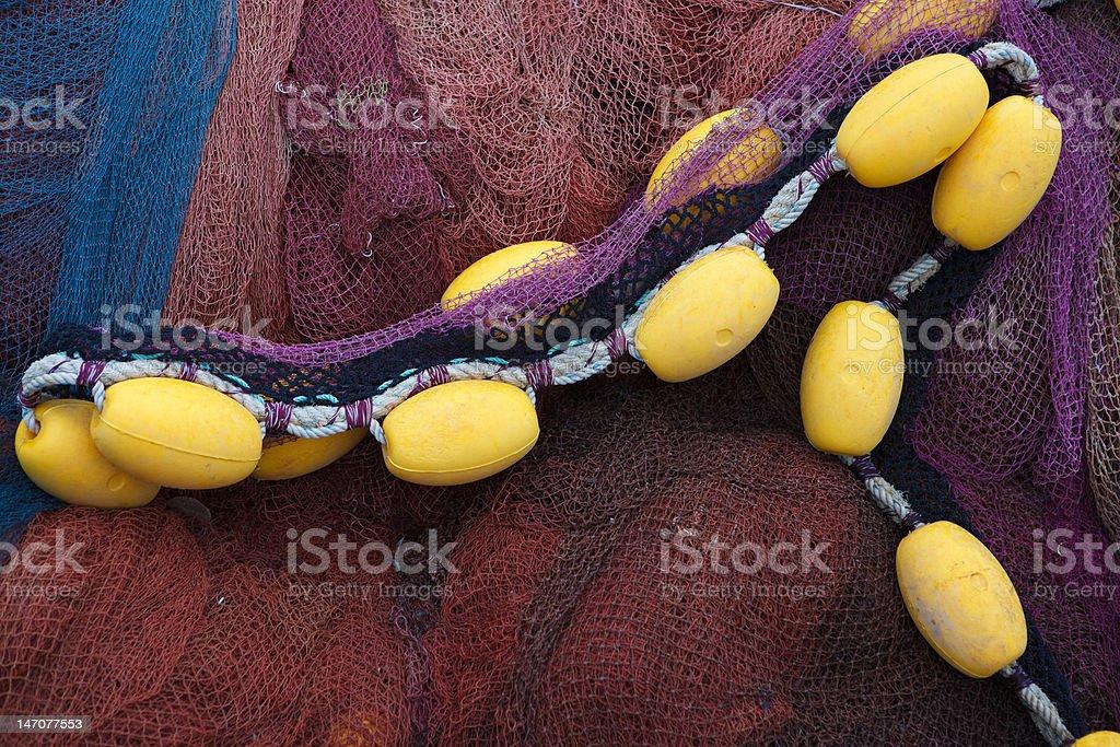 fishing net. royalty-free stock photo