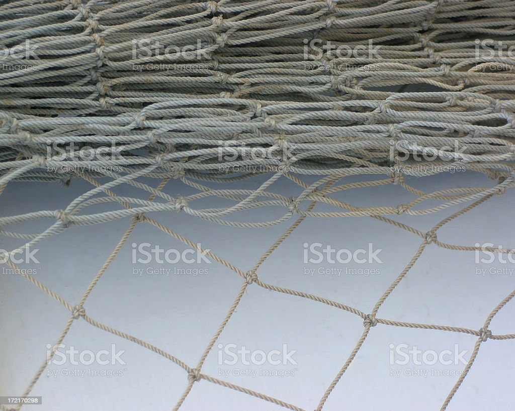fishing net royalty-free stock photo