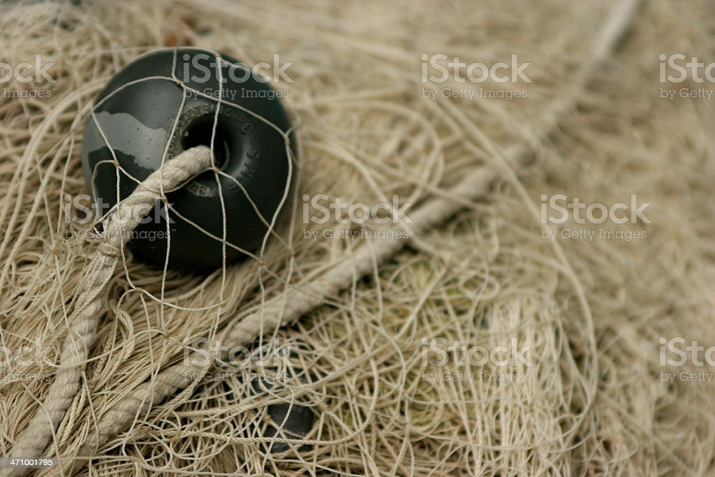 fishing net; royalty-free stock photo