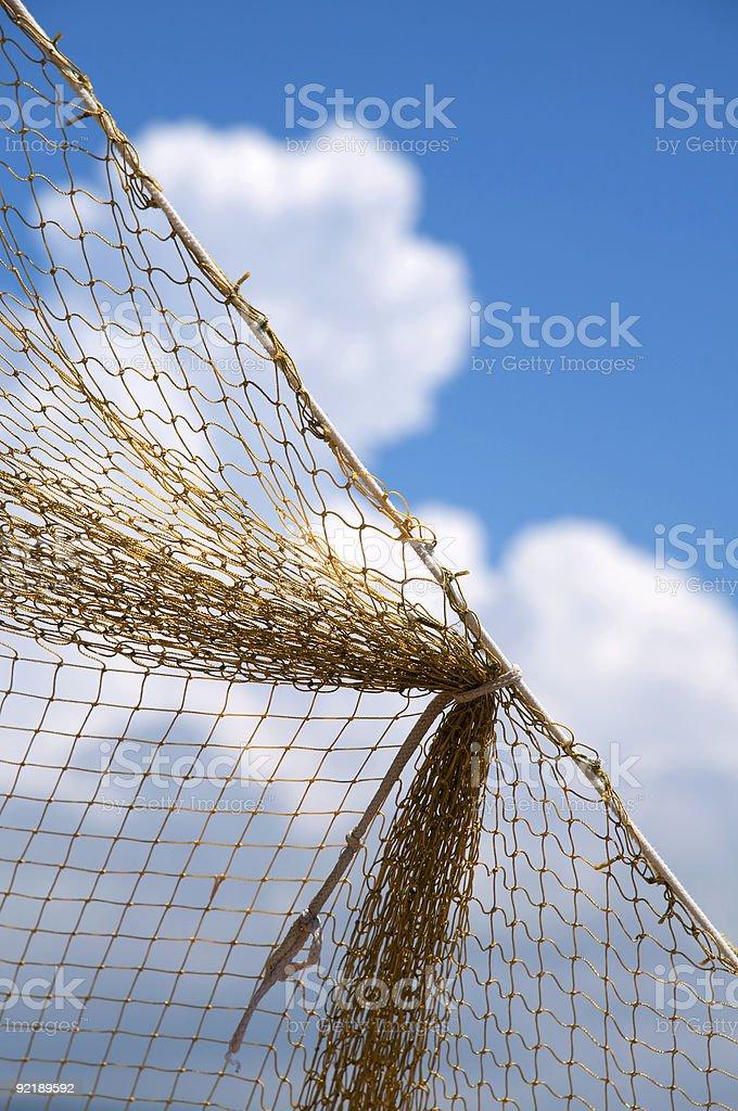 Fishing net royalty-free stock photo