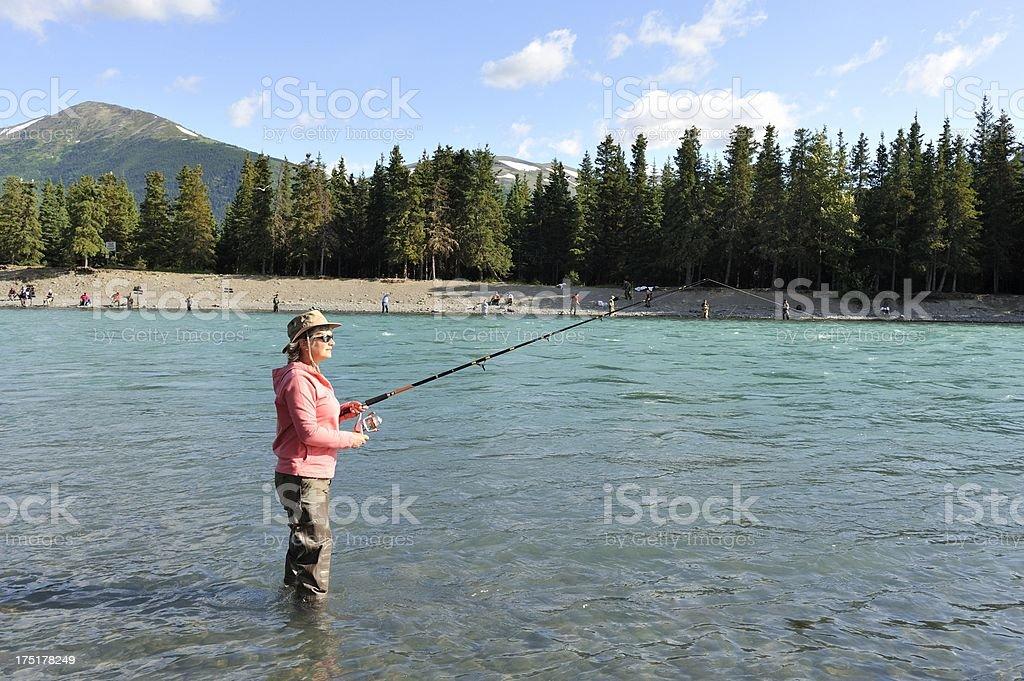 Fishing Paradise royalty-free stock photo