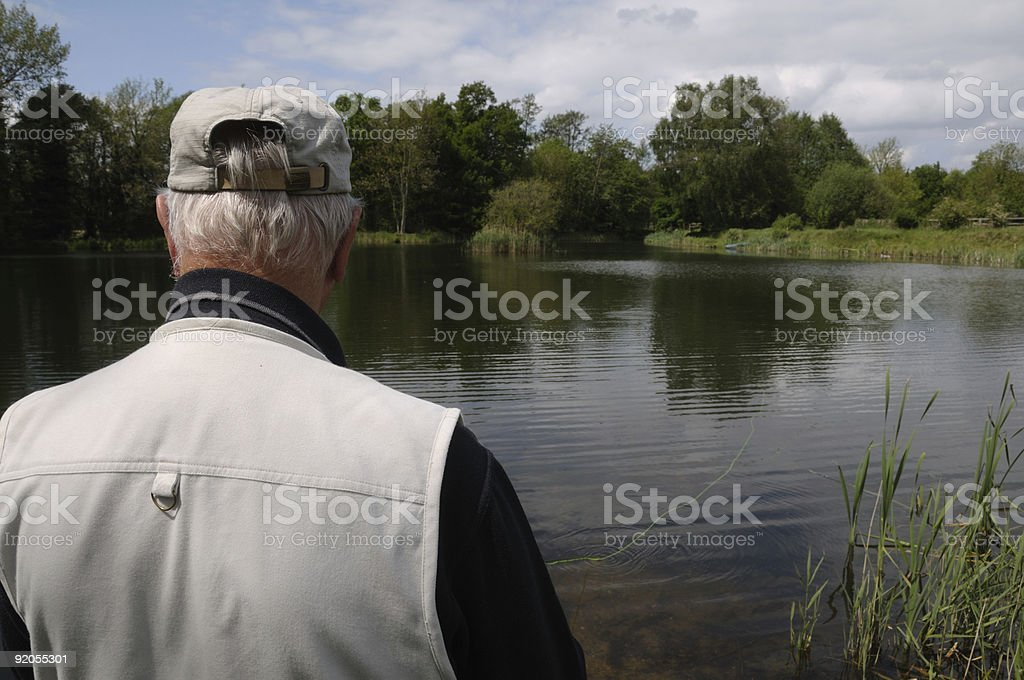 Fishing. stock photo