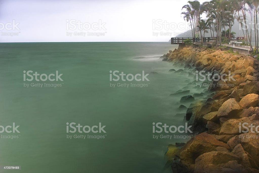 Fishing Pier royalty-free stock photo