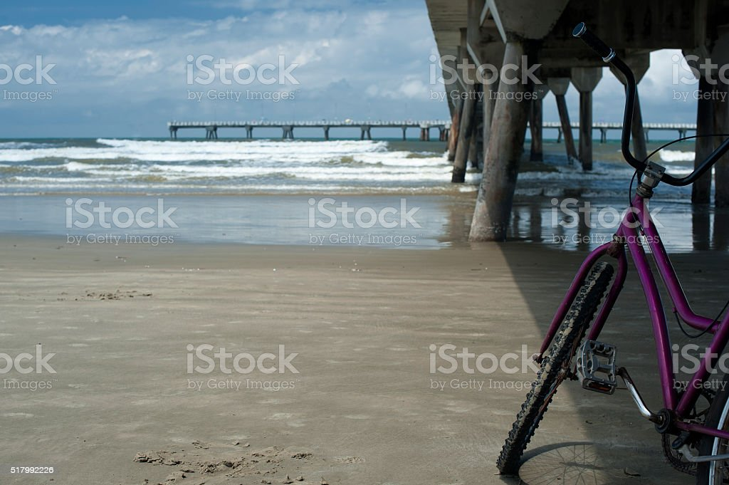 Fishing Pier stock photo