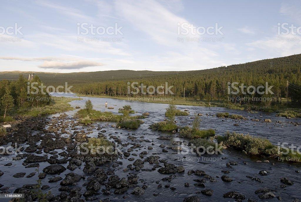 fishing place. stock photo