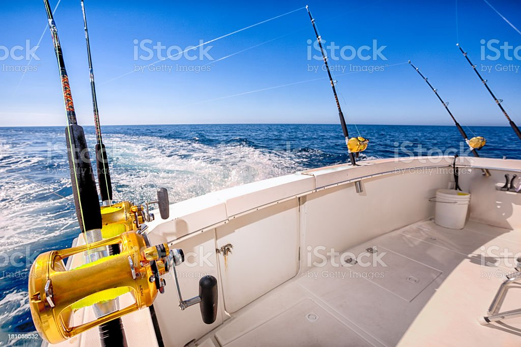 Fishing Reel stock photo