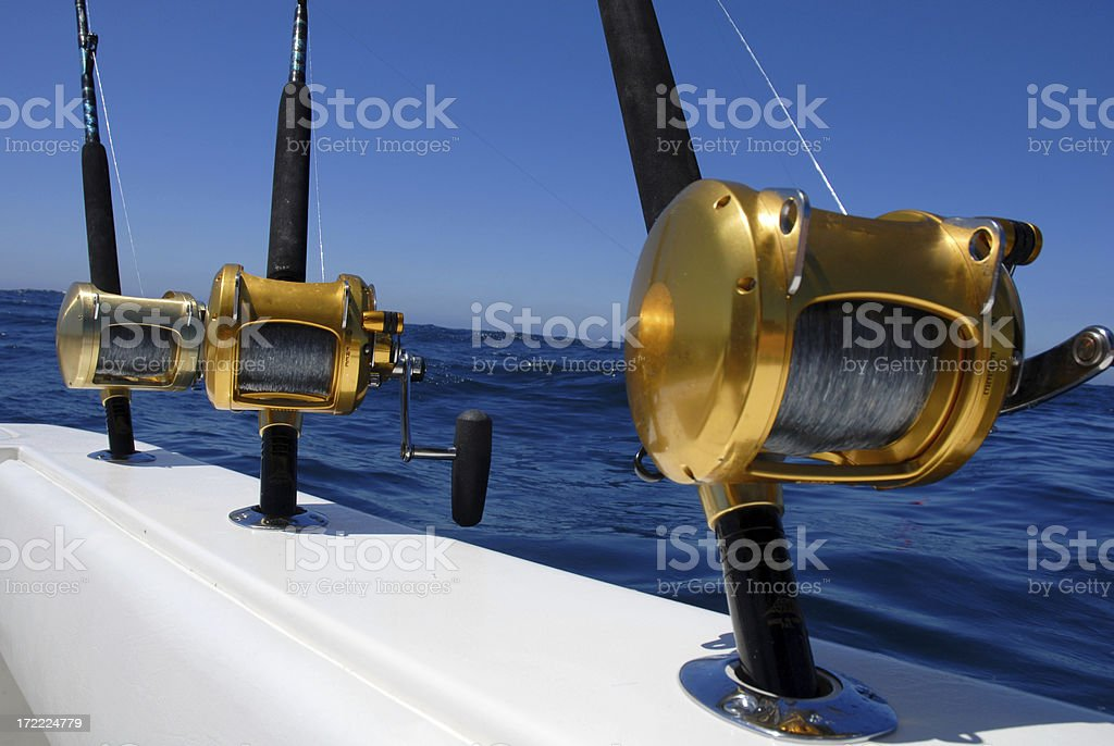 Fishing Reels royalty-free stock photo
